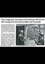 """Articolo de """"La Sicilia"""" del 14/07/2019"""