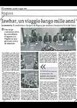 """Articolo de """"La Sicilia"""" del 15/07/2019"""